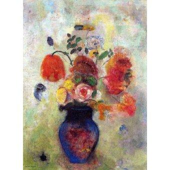 Tableaux de Fleurs - Tableau -Bouquet de flores 2- - Redon, Odilon