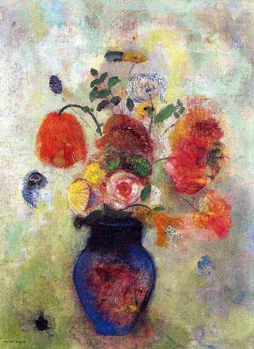cuadros-decorativos - Tableau -Bouquet de flores 2- - Redon, Odilon
