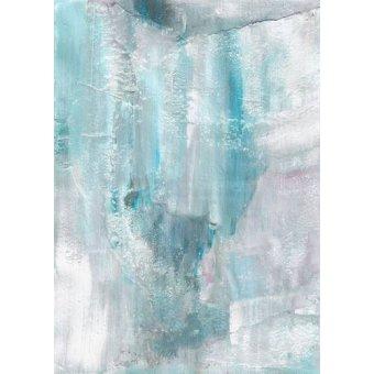 - Tableau -Abstrait _ Mur de Glace (IV)- - Molsan, E.