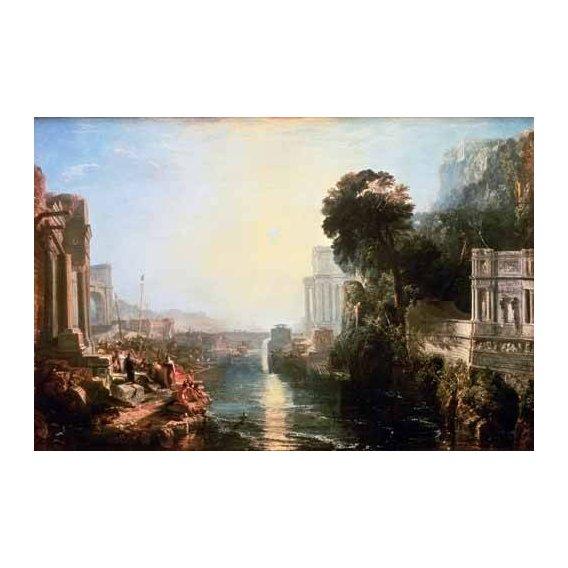pinturas de paisagens - Quadro -The Rise Of The Carthaginian Empire, 1815-