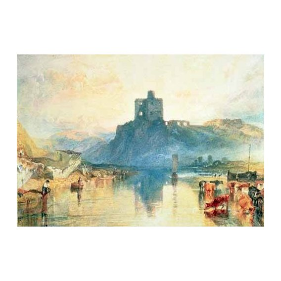 pinturas de paisagens - Quadro -Norham Castle, 1824-