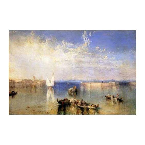 pinturas de paisagens marinhas - Quadro -Campo Santo, Venecia-