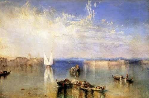 tableaux-de-paysages-marins - Tableau -Campo Santo, Venecia- - Turner, Joseph M. William