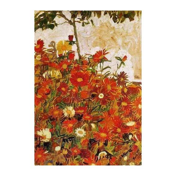 quadros decorativos - Quadro -Campo de flores-
