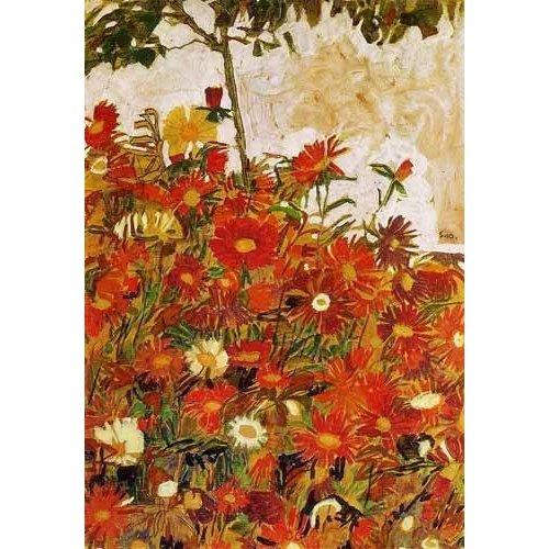 Tableau -Campo de flores-