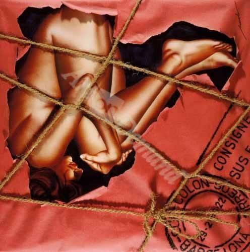 tableaux-de-nus - Tableau -Mujer Paquete- - Miranda, Nieves