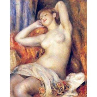 Tableaux de Nus - Tableau -La dormeuse- - Renoir, Pierre Auguste