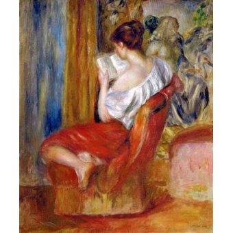 Tableau -Femme lisant-