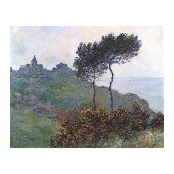 pinturas de paisagens - Quadro -Paisaje en Varengeville-
