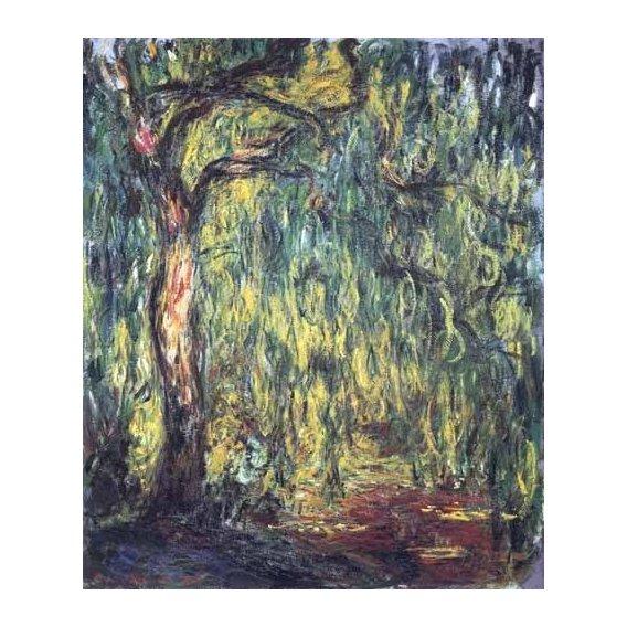 pinturas de paisagens - Quadro -Paisaje, Trauerweide-