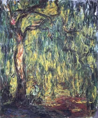 tableaux-de-paysages - Tableau -Paysage, Trauerweide- - Monet, Claude