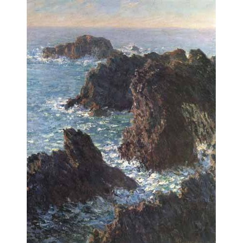 Tableau -Les rochers de Belle-Île-