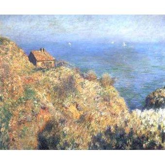 Tableaux de paysages marins - Tableau -Les falaises de Varengeville (II).- - Monet, Claude
