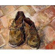 Tableau -Les chaussures de Van Gogh-
