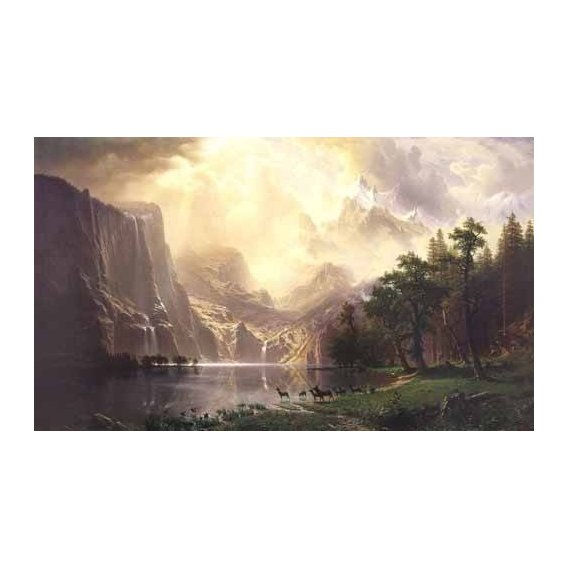pinturas de paisagens - Quadro -Sierra-Nevada-