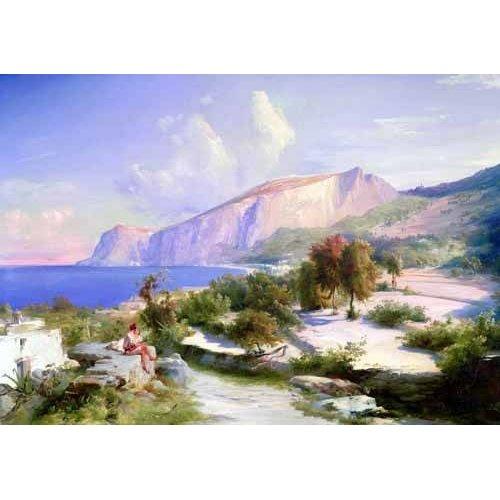 pinturas de paisagens - Quadro -Marina grande, Capri-