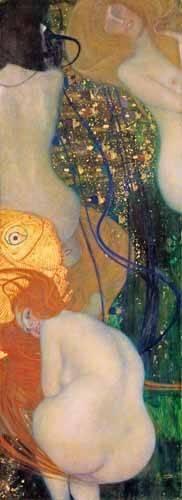 tableaux-de-nus - Tableau -Poisson rouge, 1901-2- - Klimt, Gustav
