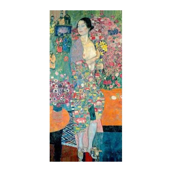 pinturas do retrato - Quadro -The Dancer, ca. 1916–18-