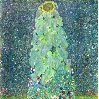 Tableaux de Fleurs - Tableau -Le Tournesol- - Klimt, Gustav