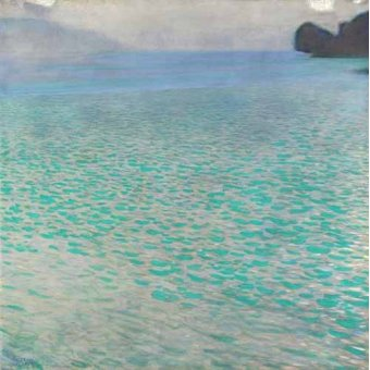 Tableau -Île à Attersee, 1901-