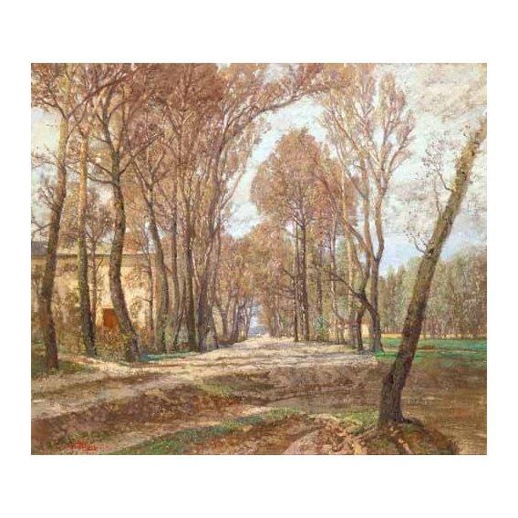 pinturas de paisagens - Quadro -Prater 1907-