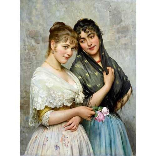 Tableau -Mujeres venecianas-
