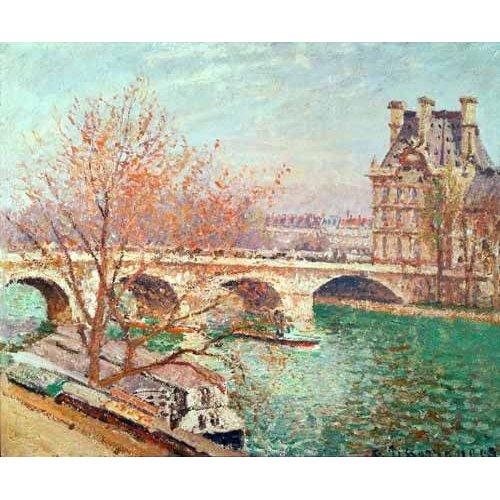 Tableau -Paysage à Pontoise, 1877-