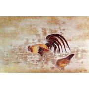 Tableau -Gallo y gallina-