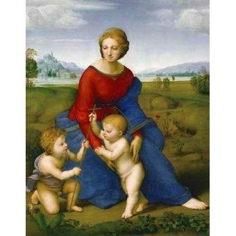 Tableaux religieuses - Tableau -Virgen del prado- - Raphaël, Sanzio da Urbino Raffael