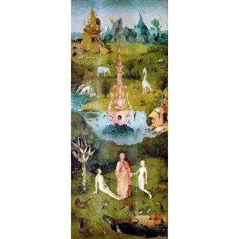 Tableau -Le jardin des délices (détail du panneau de gauche)-