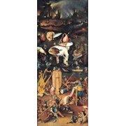 Tableau -El Jardin De Las Delicias (Detalle panel derecho)-
