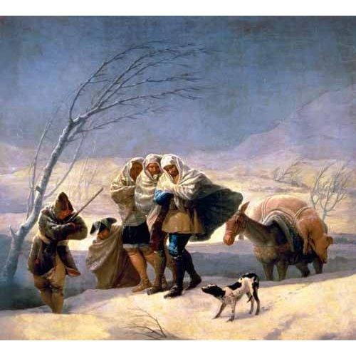 Tableau -El invierno, 1786-87-