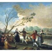 Tableau -Baile a orillas del Manzanares-
