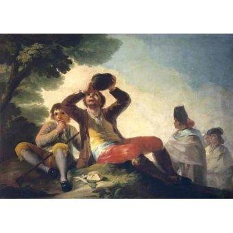 Tableau -El bebedor, 1777-