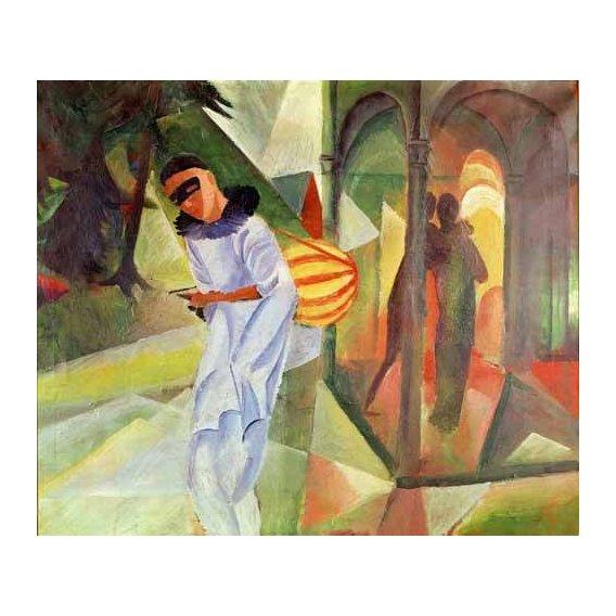 pinturas do retrato - Quadro -Pierrot, 1913 -