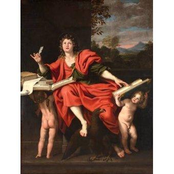 Tableaux religieuses - Tableau -San Juan Evangelista- - Zampieri, Domenichino