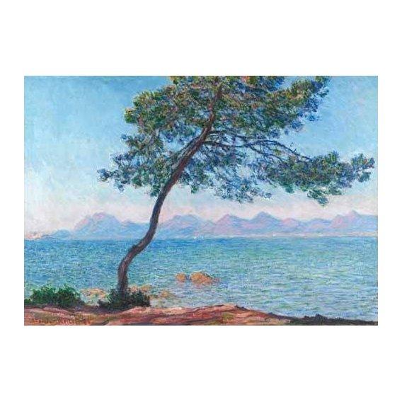 pinturas de paisagens marinhas - Quadro -Le montagne de l'Esterel, 1888-