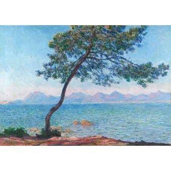 Tableaux de paysages marins - Tableau -Le montagne de l'Esterel, 1888- - Monet, Claude