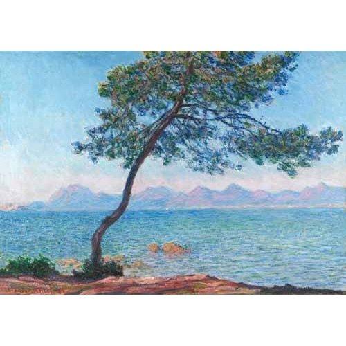 Tableau -Le montagne de l'Esterel, 1888-