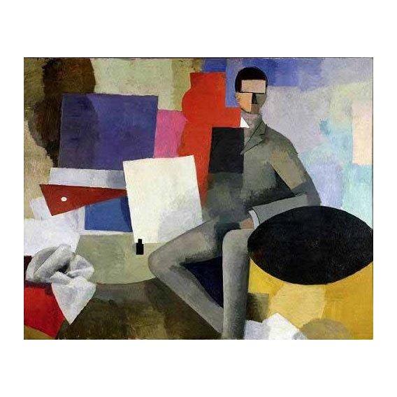 pinturas abstratas - Quadro -The architect-