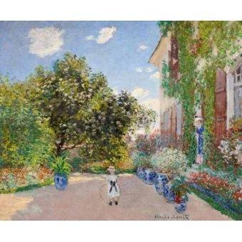 Tableau -La Maison de l'artiste à Argenteuil, 1873-
