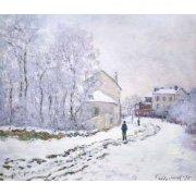 Tableau -Neige à Argenteuil, 1875-