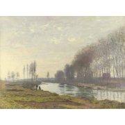 Tableau -Le petit bras de la Seine a Argenteuil, 1872-