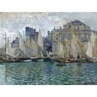 Tableaux de paysages marins - Tableau -Le Musée à Le Havre- - Monet, Claude