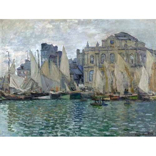 pinturas de paisagens marinhas - Quadro -Museo Naval En Le Havre-