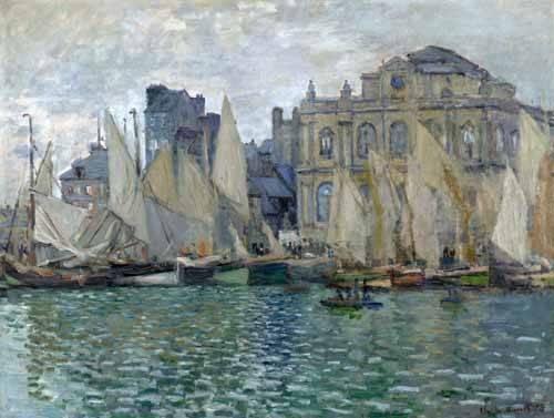 tableaux-de-paysages-marins - Tableau -Le Musée à Le Havre- - Monet, Claude