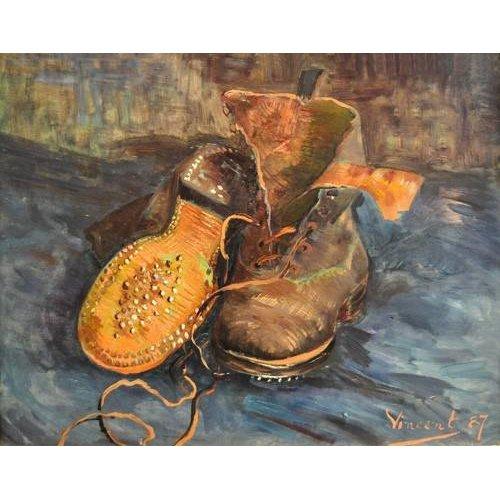 naturezas mortas - Quadro -A Pair of Boots-