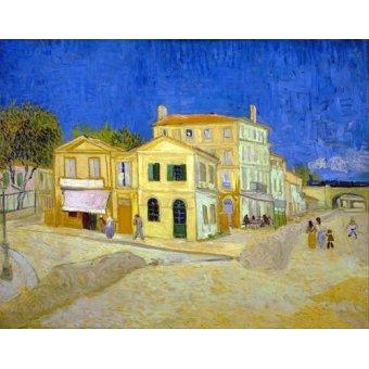 Tableau -La maison jaune, 1888-