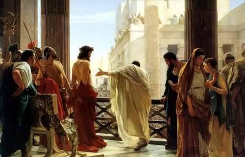 tableaux-religieuses - Tableau -Ecce Homo, 1880- - Ciseri, Antonio
