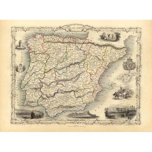 Tableau -España y Portugal (1851)-